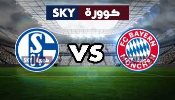 مشاهدة مباراة شالكه 04 ضد بايرن ميونيخ بث مباشر الدوري الألماني الدرجة الأولى الأحد 24-يناير-2021
