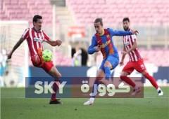 جريزمان بطل صفقة تبادلية بين برشلونة وأتلتيكو